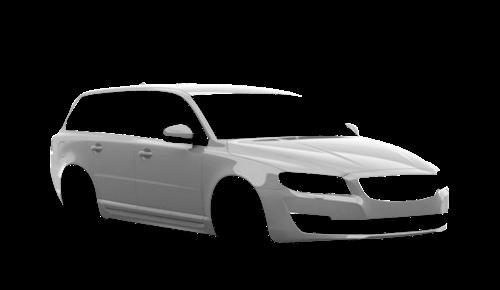 Цвета кузова V70